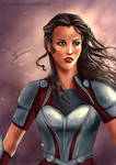 Lady Sif from Marvel's Thor (Collab)
