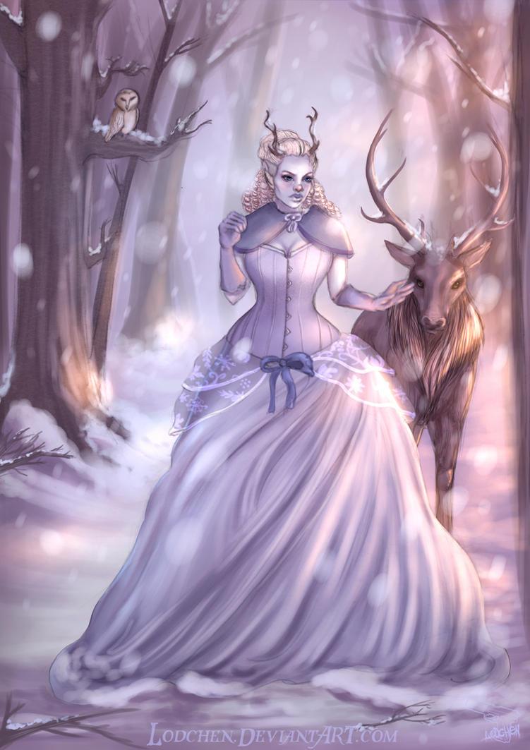 Snow Queen by Lodchen