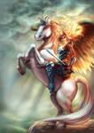 Angelic Lady Knight