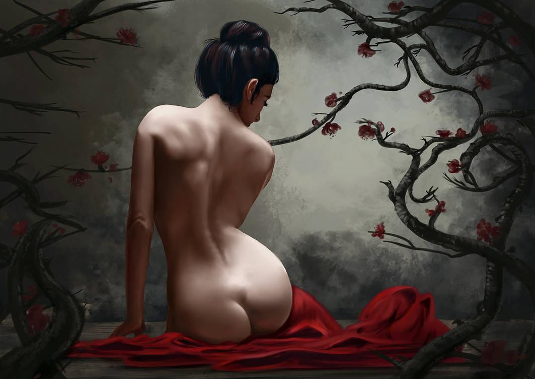 Geisha by Lodchen