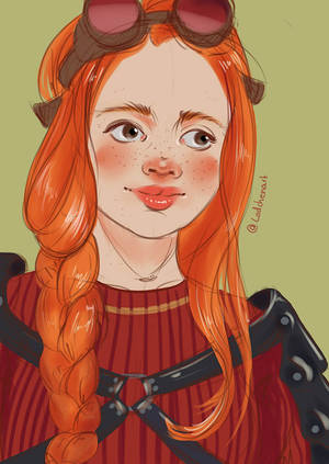 Ginny Weasley by Lodchen