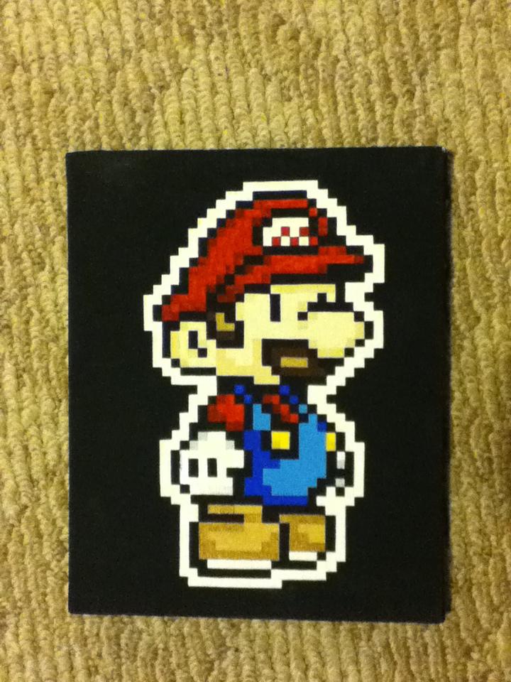 Mario! by BlueWolfDragon