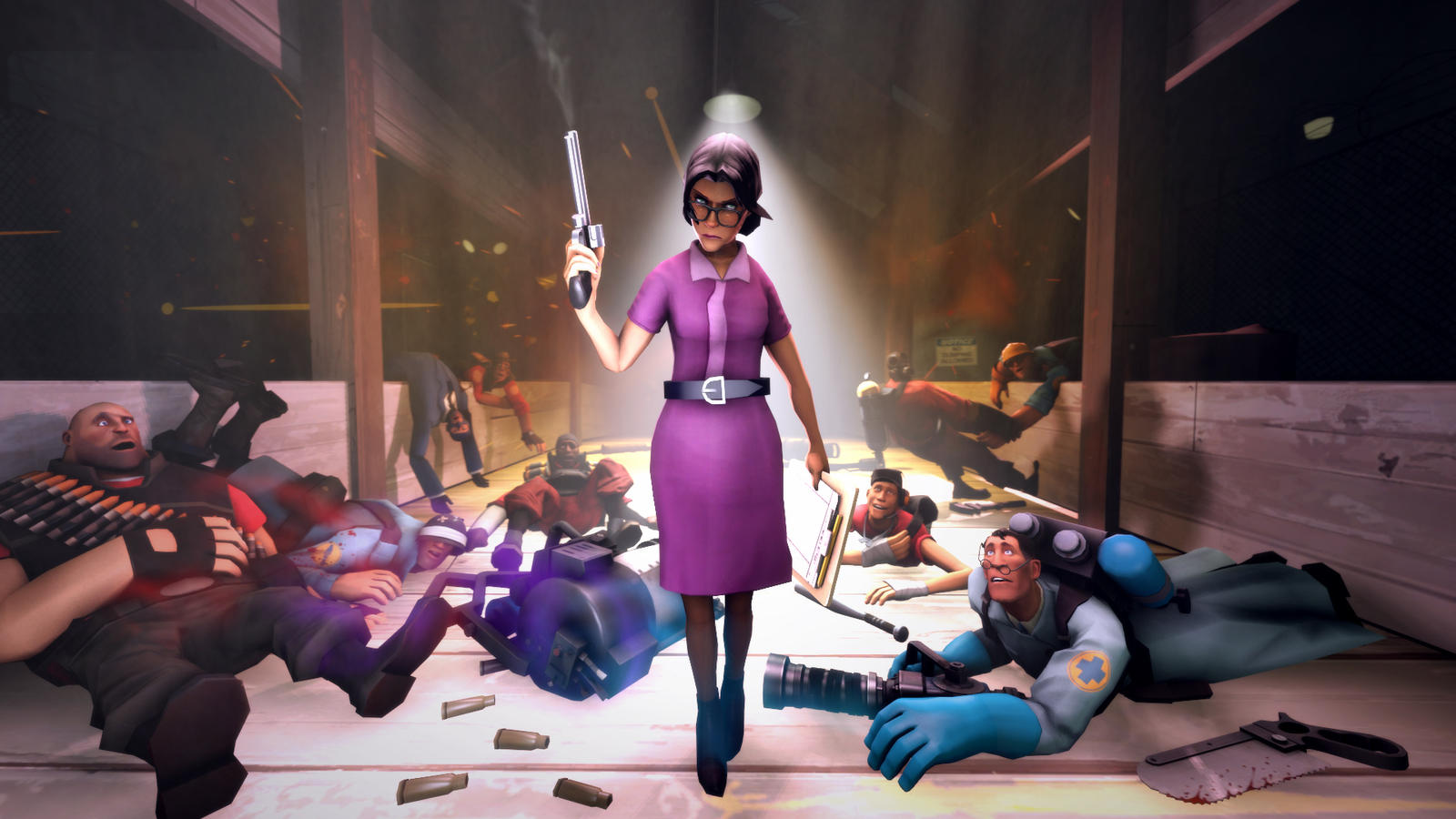 Meet Miss Pauling by uberchain