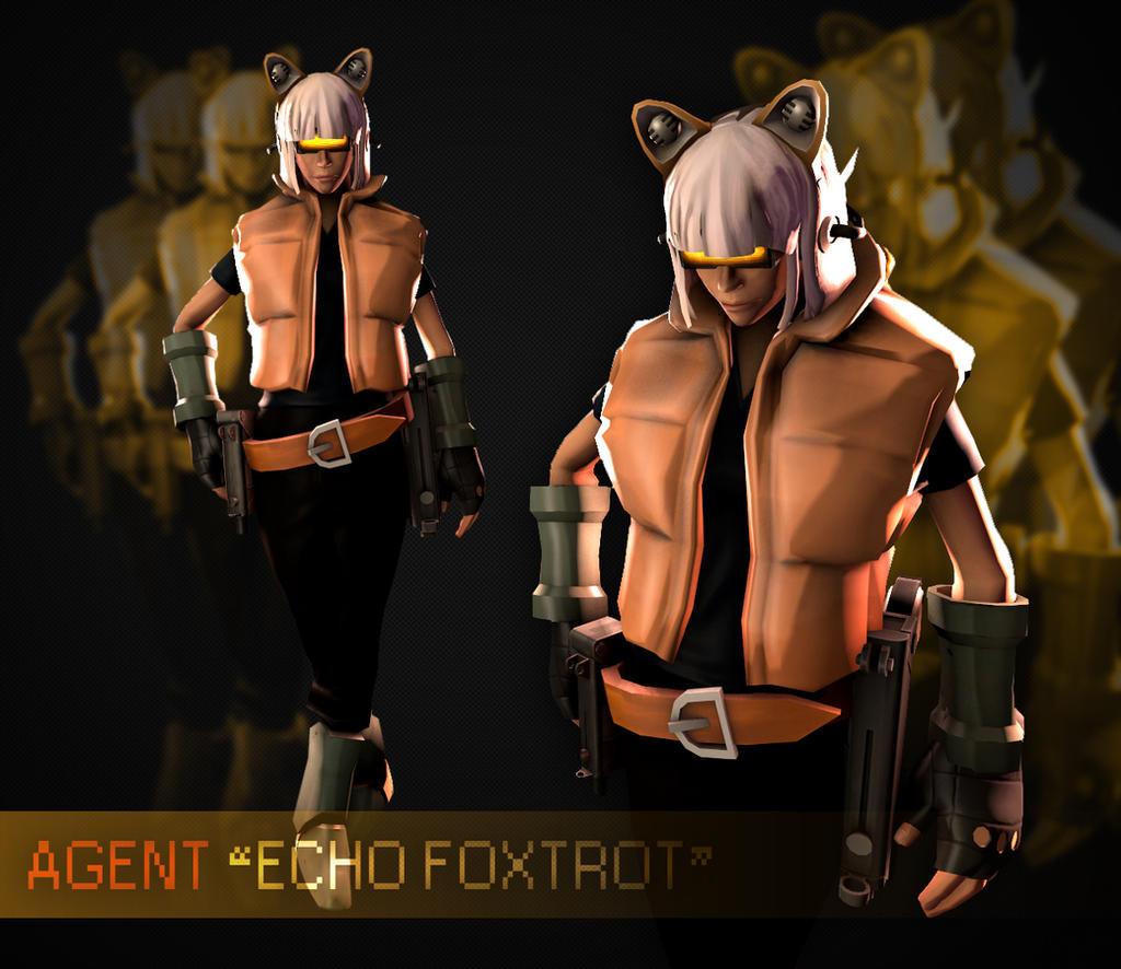 Foxtrot (Femscout OC Challenge) By Uberchain On DeviantArt