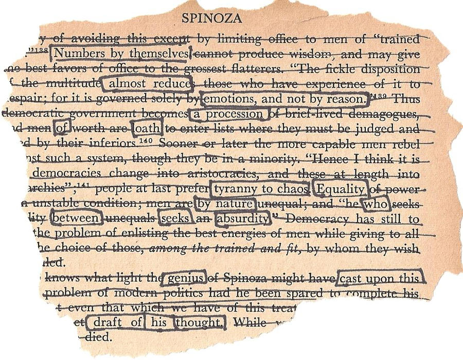 spinoza by formaniac