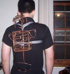 back... pack skeleton front