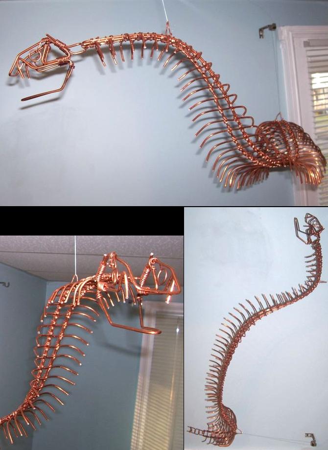 Skeletal Python by JPCopper