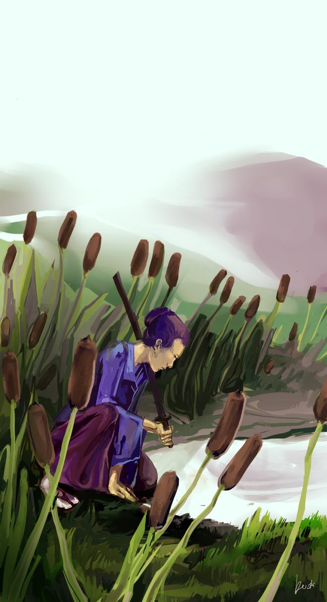 Reflective Samurai by duskemi