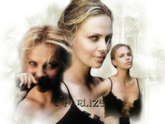 Charlize Theron by vampiredalia
