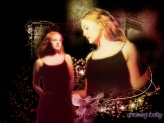 Drew Barrymore by vampiredalia