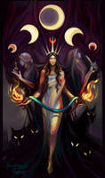 Mysterious and Dark Sides of Hecate