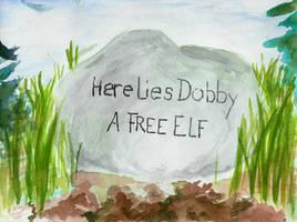 Here Lies Dobby - A FREE ELF by NanethielHinkypunk