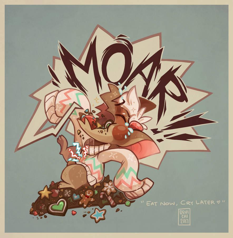 MOAR!! - Gingerbread Cookie Fornlee DTA