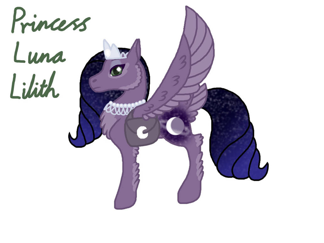 STYLE YOUR G5 MLP ART CONTEST RE-ENTRY (Luna) by Stephoxo on