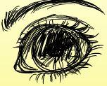 Eye Doodle by CrazyLavender