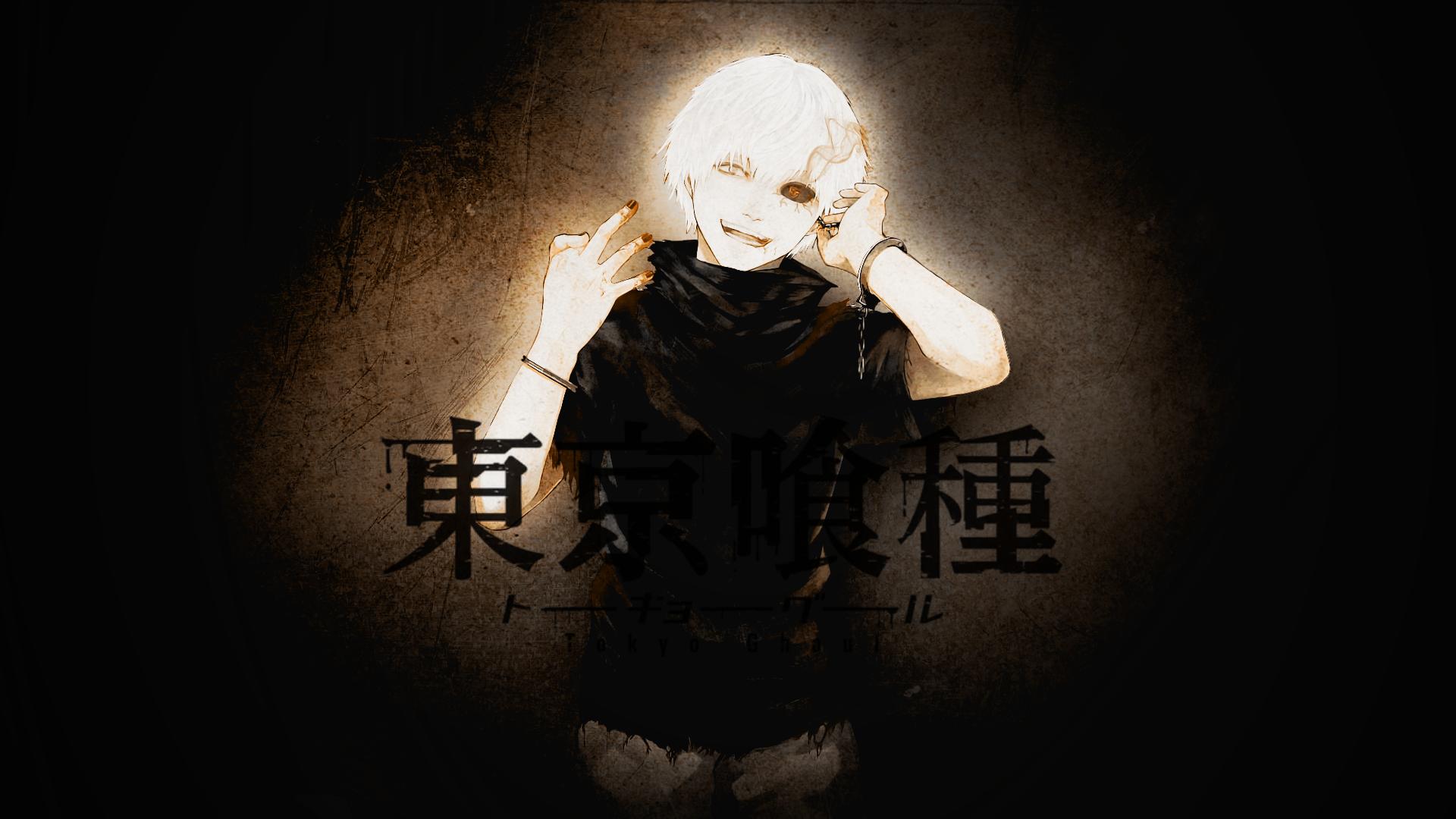 Tokyo Ghoul Ken Kaneki Wallpaper: Tokyo Ghoul Kaneki Ken White Hair Wallpaper By Ramzes100