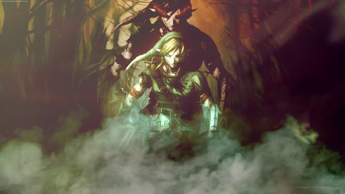 the legend of zelda wallpaperramzes100 on deviantart