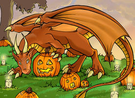 Calendar project 2007 - Dragon by lirale