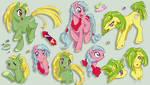 Sparkle Ponies - StarHopper, SkyRocket and Napper