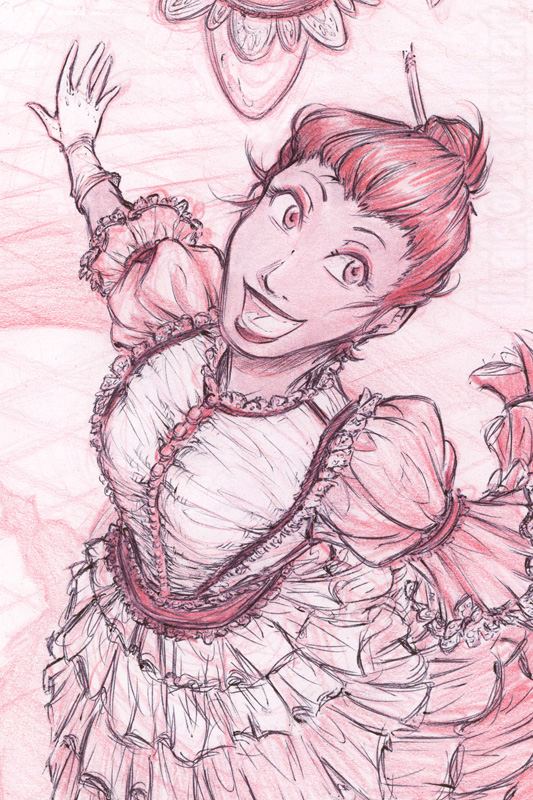Dat dress...! by lirale