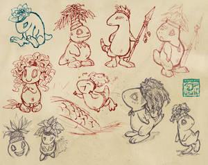 Pygmies!