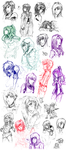 SketchDump - 001 by lirale