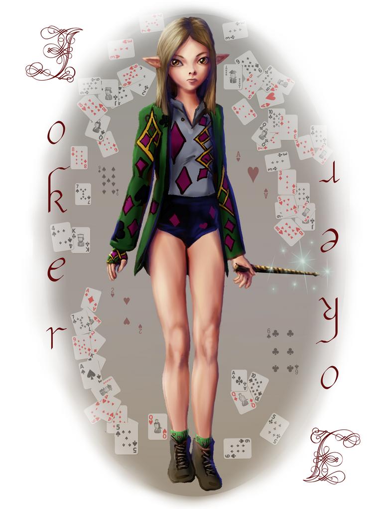 Elf girl joker by VerdanMagiston