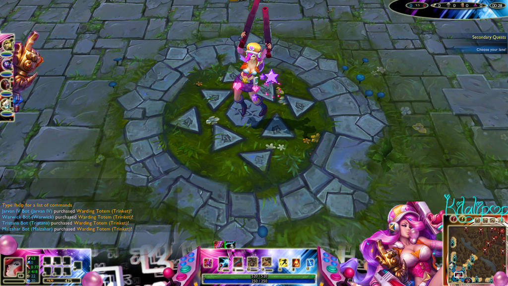 Arcade Miss Fortune Overlay by Kilala1994