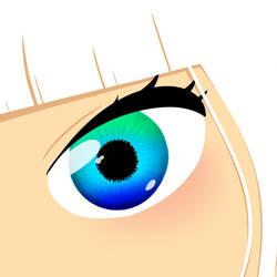 Blue-green Eye