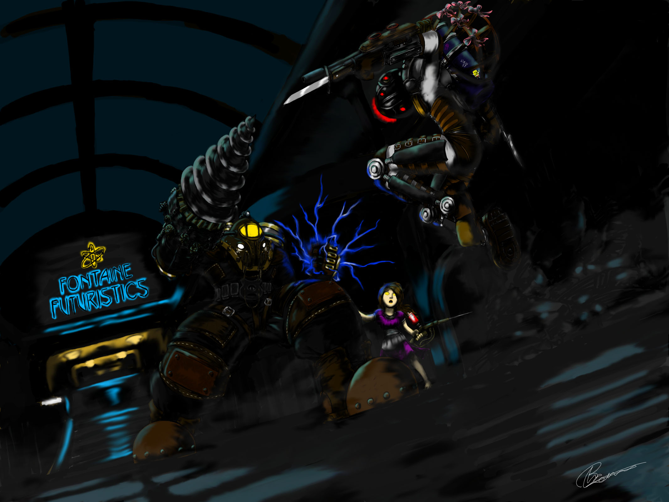Bioshock Beatdown by LiewJJ