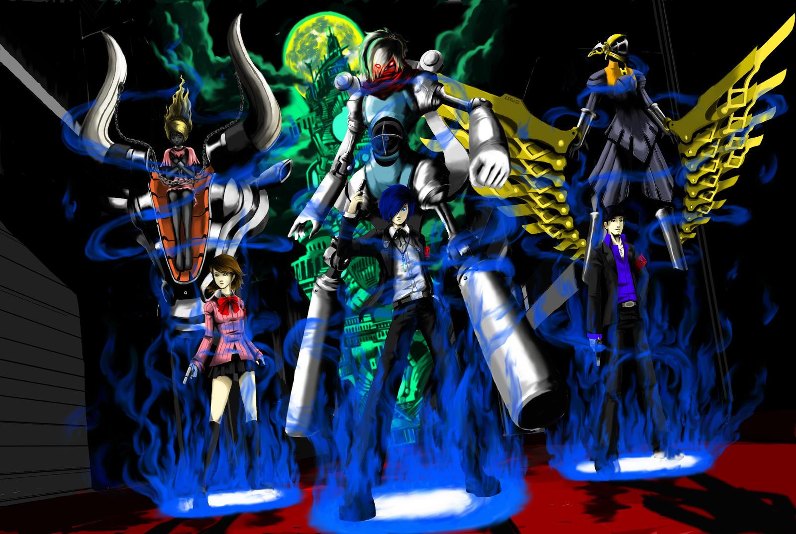 Persona 3: First Rookies by LiewJJ