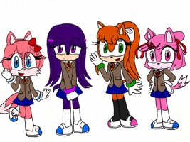 Doki Doki Sonic Club