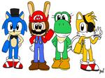 (RockClones) Character Sketches