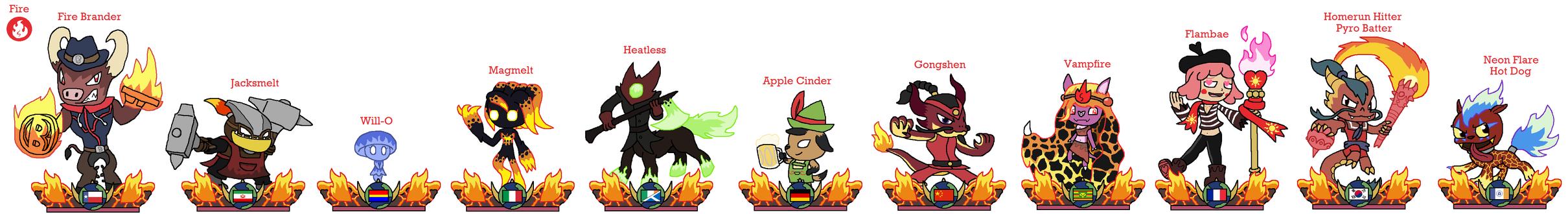 Skylanders World - Fire by JoltikLover