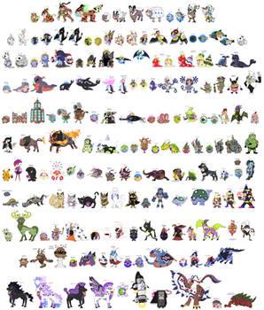 Hokuto Pokemon - Shiny