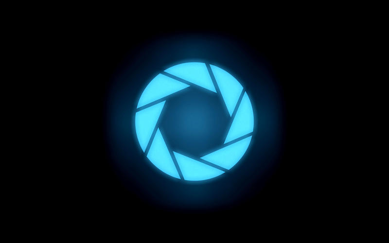 Aperture Science Glow-portal by tehboriz