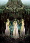 The Norns by CassiopeiaArt