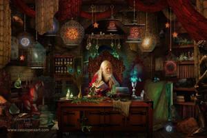 Spellbound by CassiopeiaArt