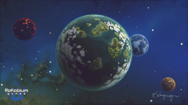 Bitiax solar system