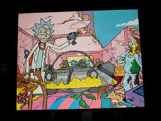 Rick and Morty - Simpsons Gag