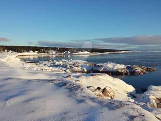 The Coast of a Cape Breton Village