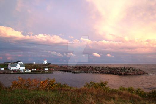 Autumn by the Ocean