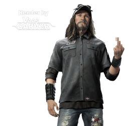 Watch Dogs - T-Bone Grady Body All Render