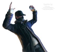 Watch Dogs - Aiden Pearce Body All 9 Render