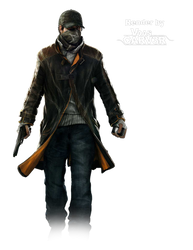 Watch Dogs - Aiden Pearce Body All 10 Render