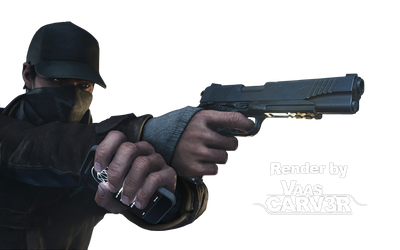 Watch Dogs - Aiden Pearce Body All 11 Render