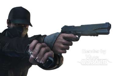 Watch Dogs - Aiden Pearce Body All 11-1 Render