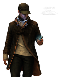 Watch Dogs - Aiden Pearce Body All 13 Render
