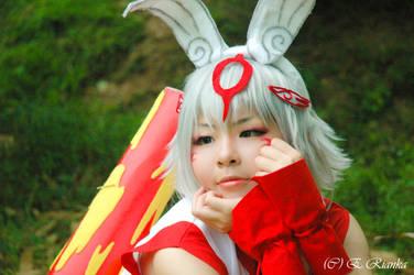 -Yumigami- Happy Easter! by ERianka