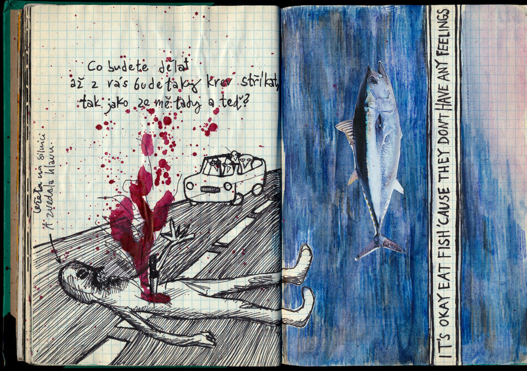 31-32 Fish @ Blood by karrimu